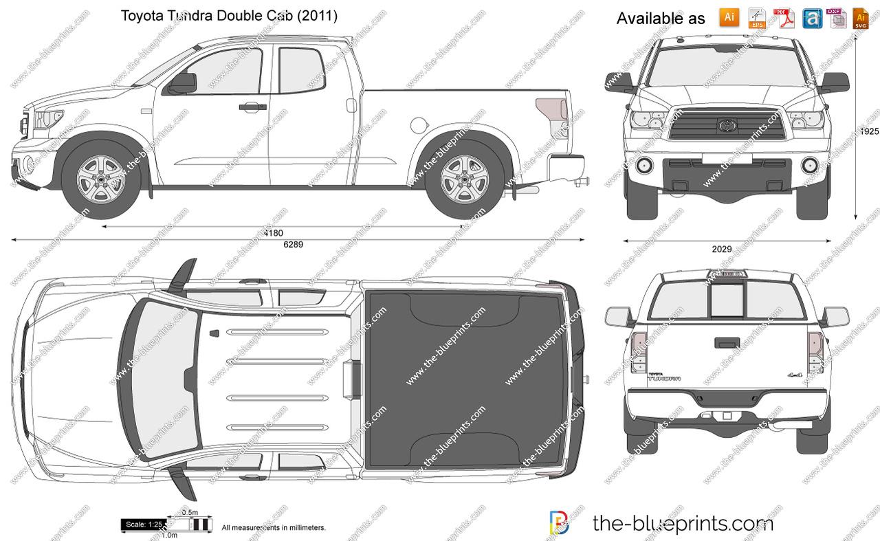 Toyota tundra clipart clip art freeuse stock Toyota Tundra Double Cab vector drawing clip art freeuse stock