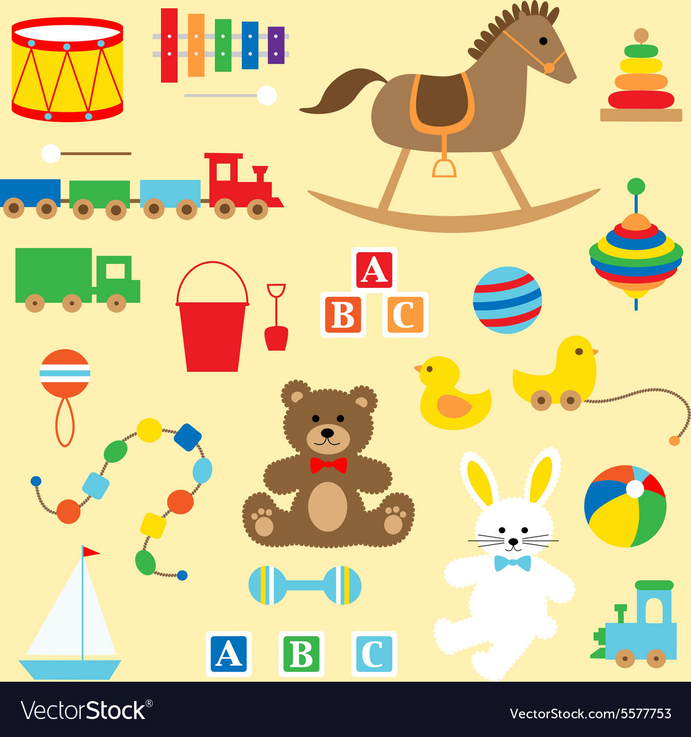 Toys starting with b clipart svg download Toys clipart svg download