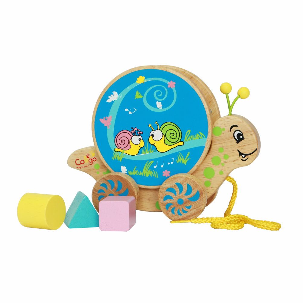 Toys starting with b clipart picture freeuse stock Pull along pretty snail (B) toy for kids - 11236B - NamHoa Corp picture freeuse stock