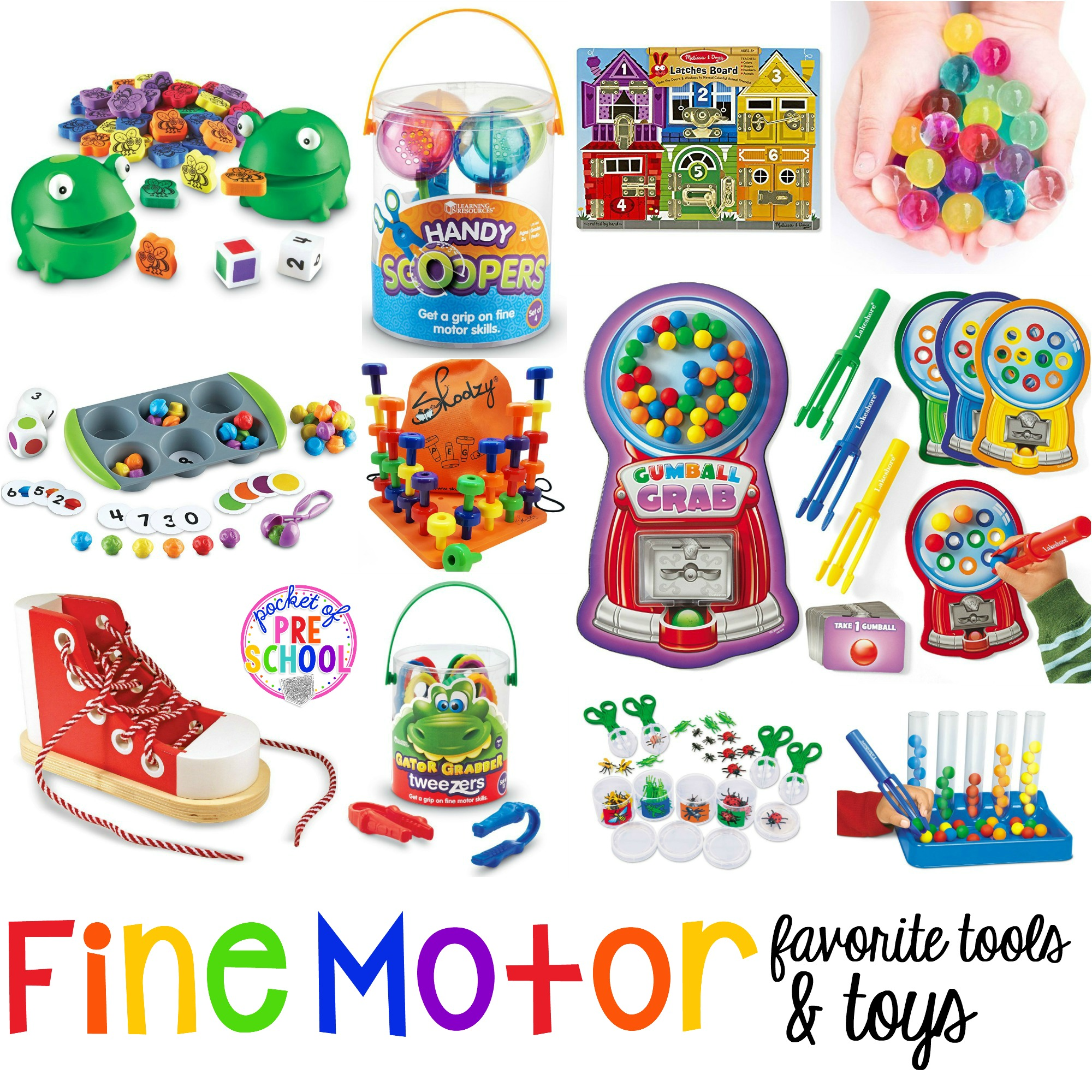Toys starting with k clipart image transparent stock Favorite Fine Motor Tools & Toys for Preschool ... image transparent stock