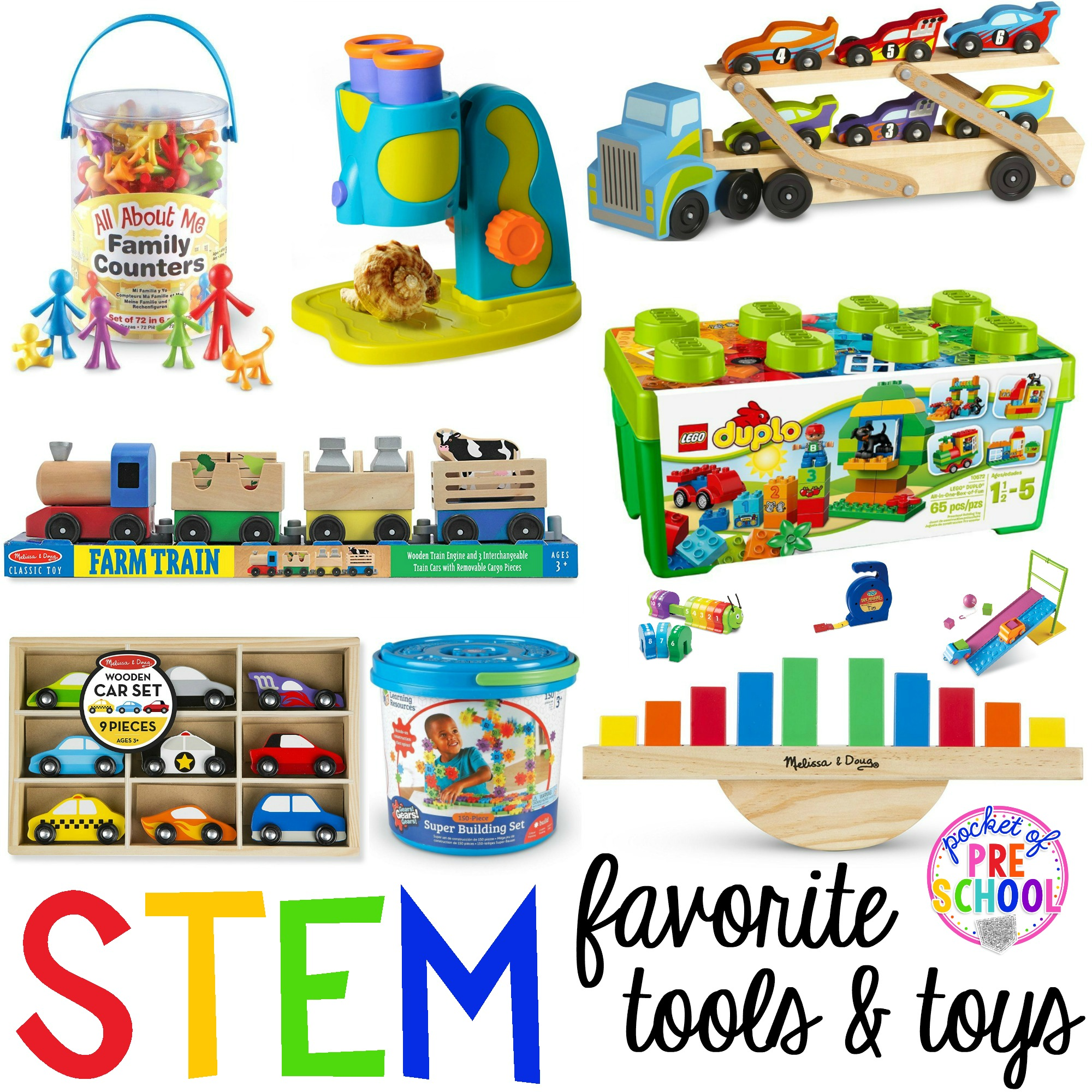 Toys starting with k clipart royalty free library STEM tools and toys for preschool, pre-k, and kindergarten royalty free library