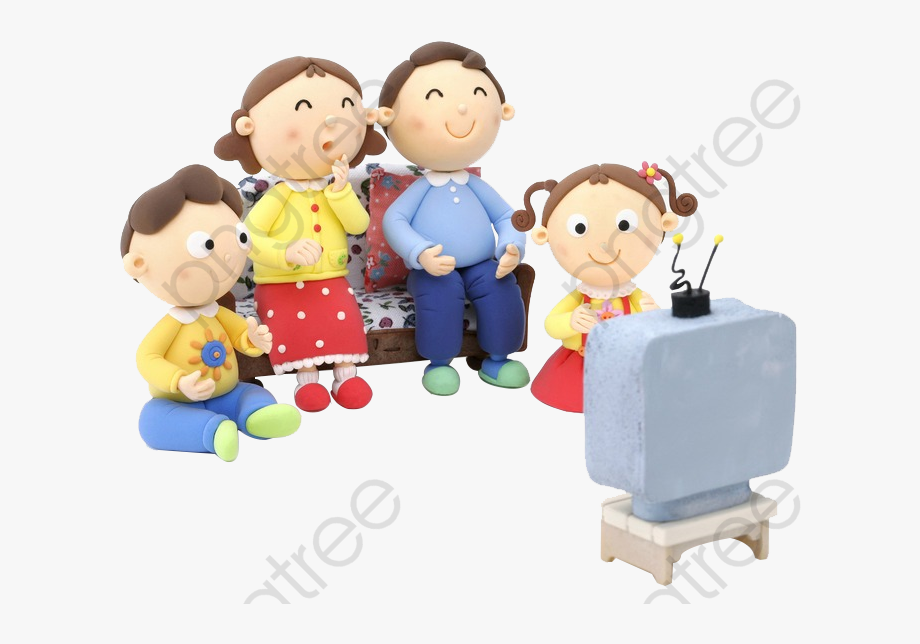 Watching tv with the family clipart graphic freeuse stock Watching Tv Clipart Animation - Family Watch Tv Clipart ... graphic freeuse stock