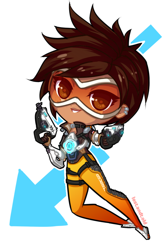 Tracer overwatch clipart transparent download Download Tracer clipart Black Canary Overwatch Tracer ... transparent download