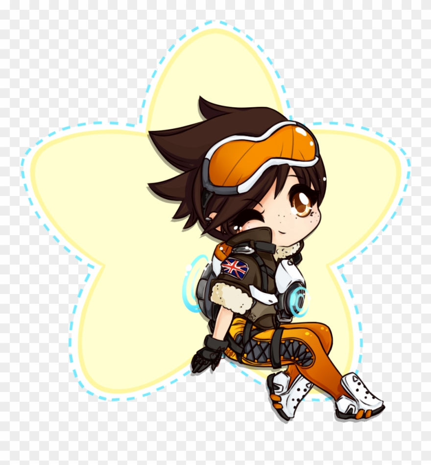 Tracer overwatch clipart image royalty free download Tracer Overwatch Chibi Clipart (#1638947) - PinClipart image royalty free download