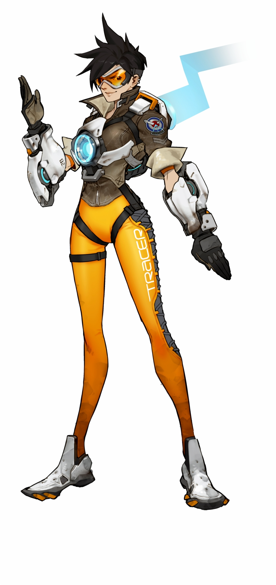 Tracer overwatch clipart clip free Img] - Tracer From Overwatch Free PNG Images & Clipart ... clip free