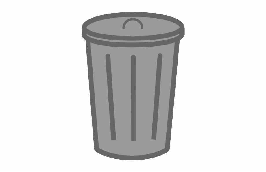 Trach can clipart clip royalty free library Trash Can - Garbage Can Transparent Background Free PNG ... clip royalty free library
