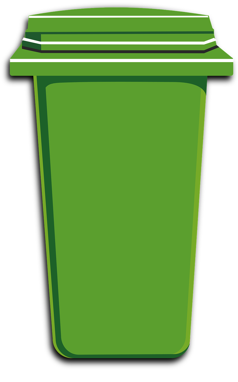 Waste bin clipart clip library stock Free Image on Pixabay - Green, Trash, Bin, Can, Plastic ... clip library stock
