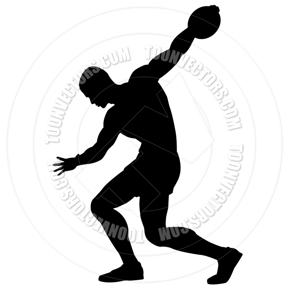 Track and field discus clipart vector freeuse stock Track And Field Clipart | Free download best Track And Field ... vector freeuse stock