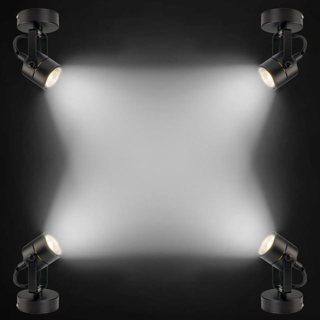 Track light clipart image royalty free Four Corner Bright Spotlight Effect With Isolated Surface ... image royalty free