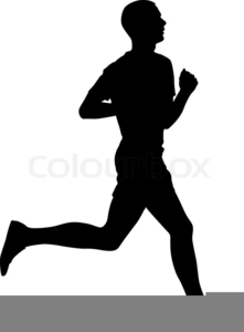 Runner pictures clipart jpg black and white library Track Runner Clipart | Free Images at Clker.com - vector ... jpg black and white library