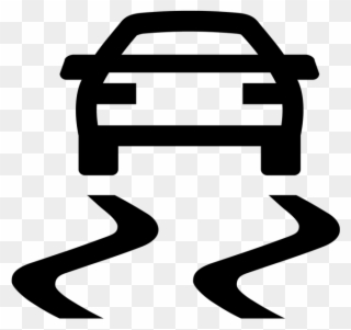 Traction clipart free image black and white Traction And Braking Control - Auto Clipart (#810513 ... image black and white