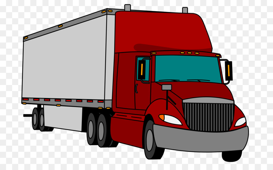 Tractor and trailor clipart png graphic royalty free stock Semitrailer Truck Cargo png download - 2400*1457 - Free ... graphic royalty free stock