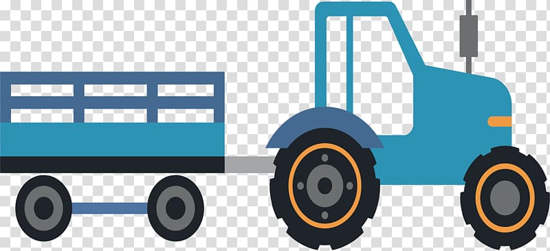 Tractor and trailor clipart png vector transparent download Tractor Trailer Icon, Tractor trailer transparent background ... vector transparent download