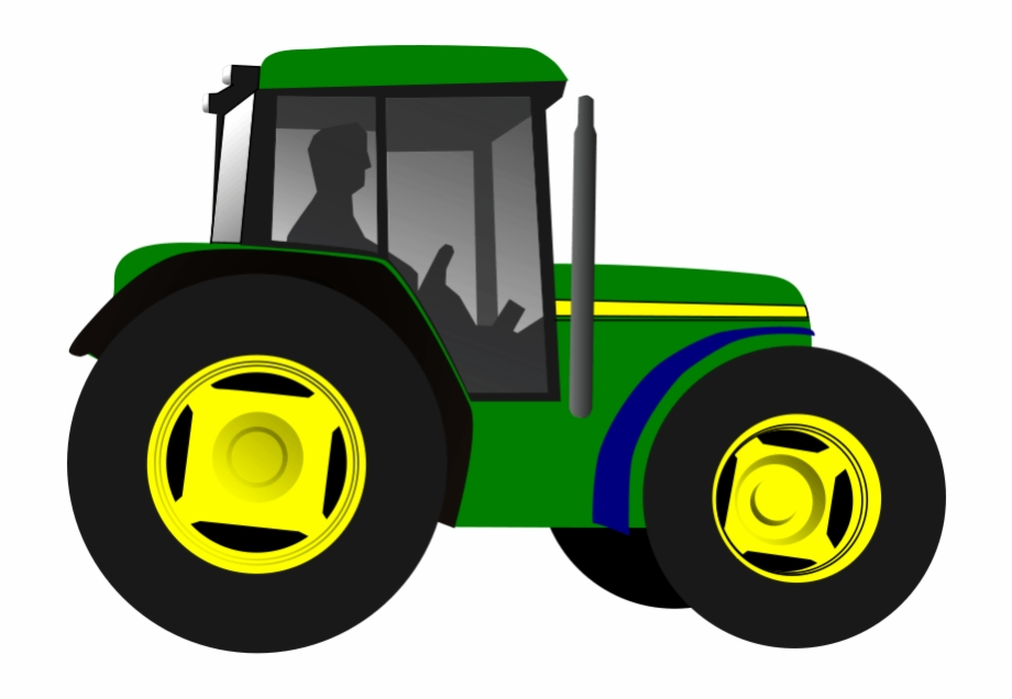 Tractor and trailor clipart png picture black and white Tractor Trailer Clipart - Green Tractor Clipart, Transparent ... picture black and white