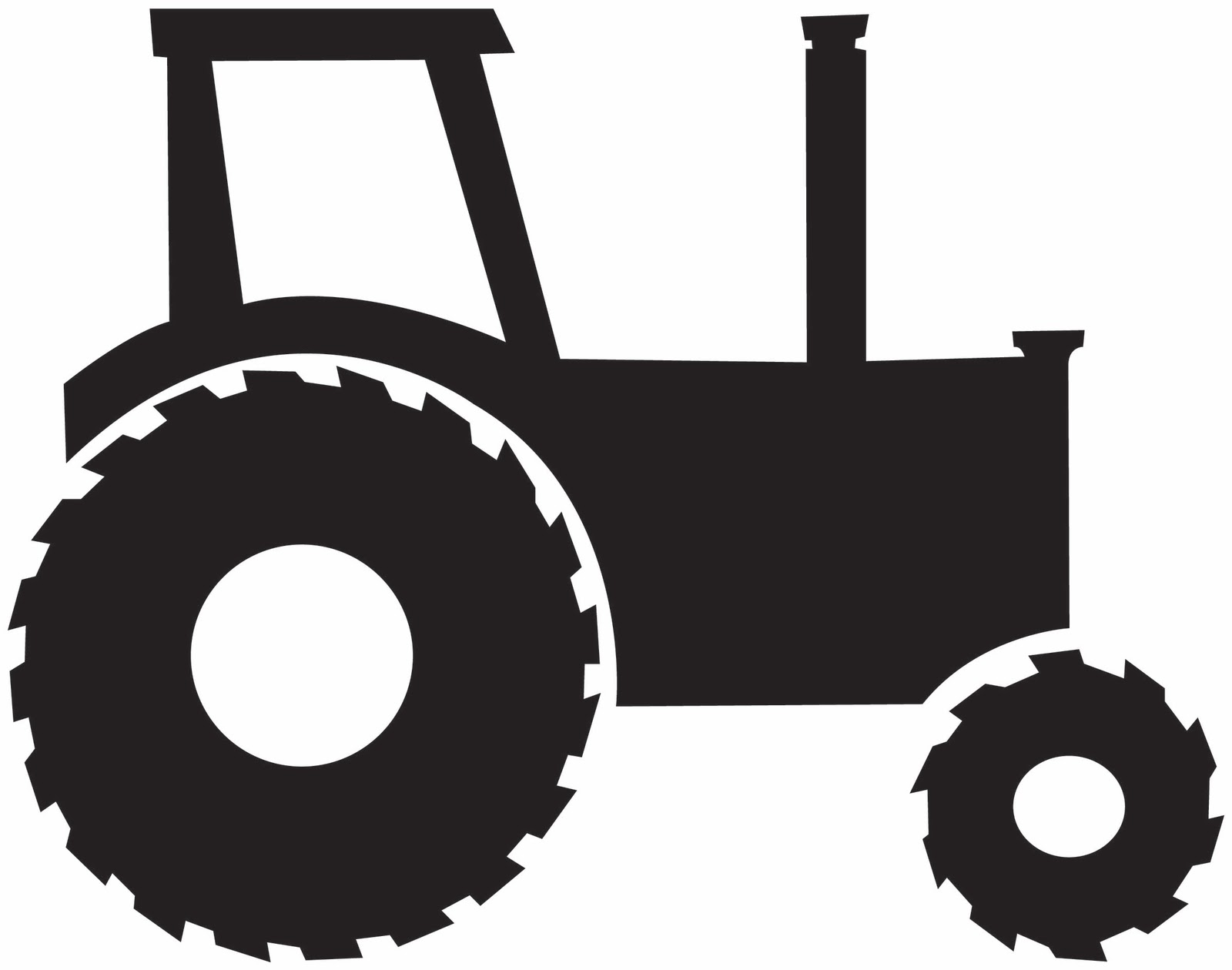 John deere clipart black and white clipart royalty free download Tractor Clipart Black And White - Free Clipart clipart royalty free download