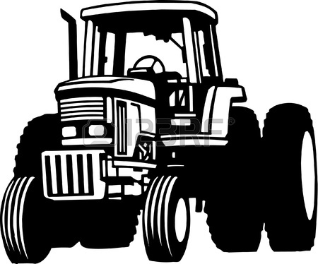 John deere clipart black and white clipart transparent Tractor Clipart Black And White | Clipart Panda - Free ... clipart transparent