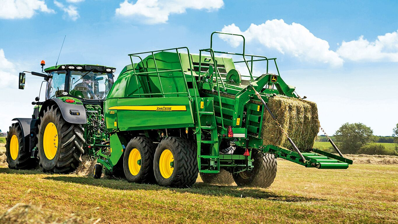 Tractor cutting hay clipart banner transparent download Balers | Hay & Forage Equipment | John Deere US banner transparent download