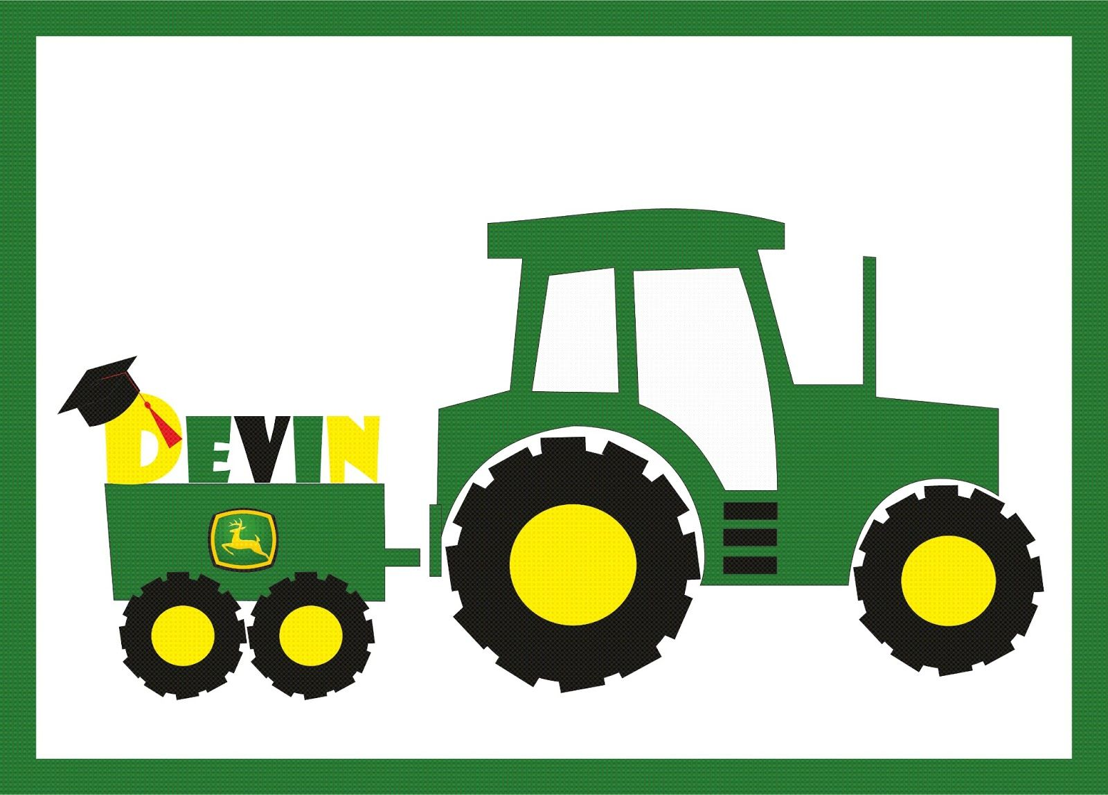 Tractor pulling hay clipart jpg royalty free download Green Tractor Clip Art | john deere clip art free . Free ... jpg royalty free download