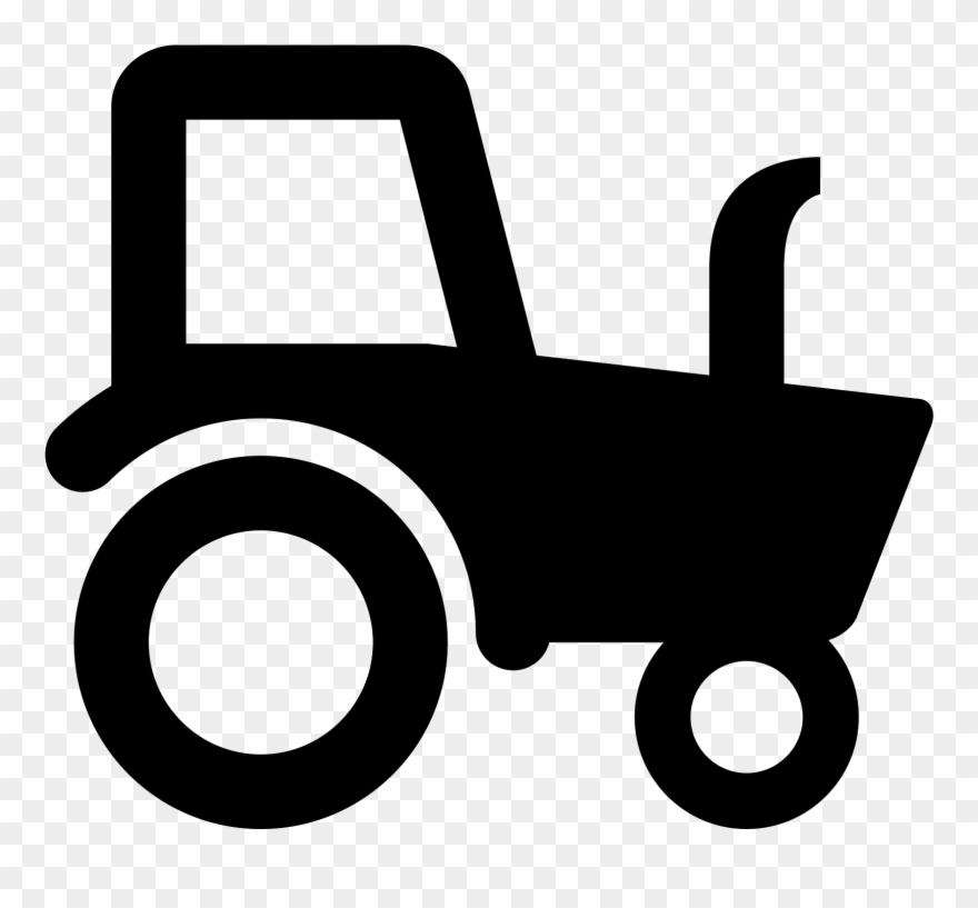 Tractor icon clipart jpg royalty free stock Lawn Tractor Icons - Black And White Tractor Clipart ... jpg royalty free stock