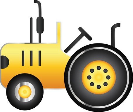 Tractor icon clipart clip art free stock Free Free Vector Tractor Icon Clipart and Vector Graphics ... clip art free stock