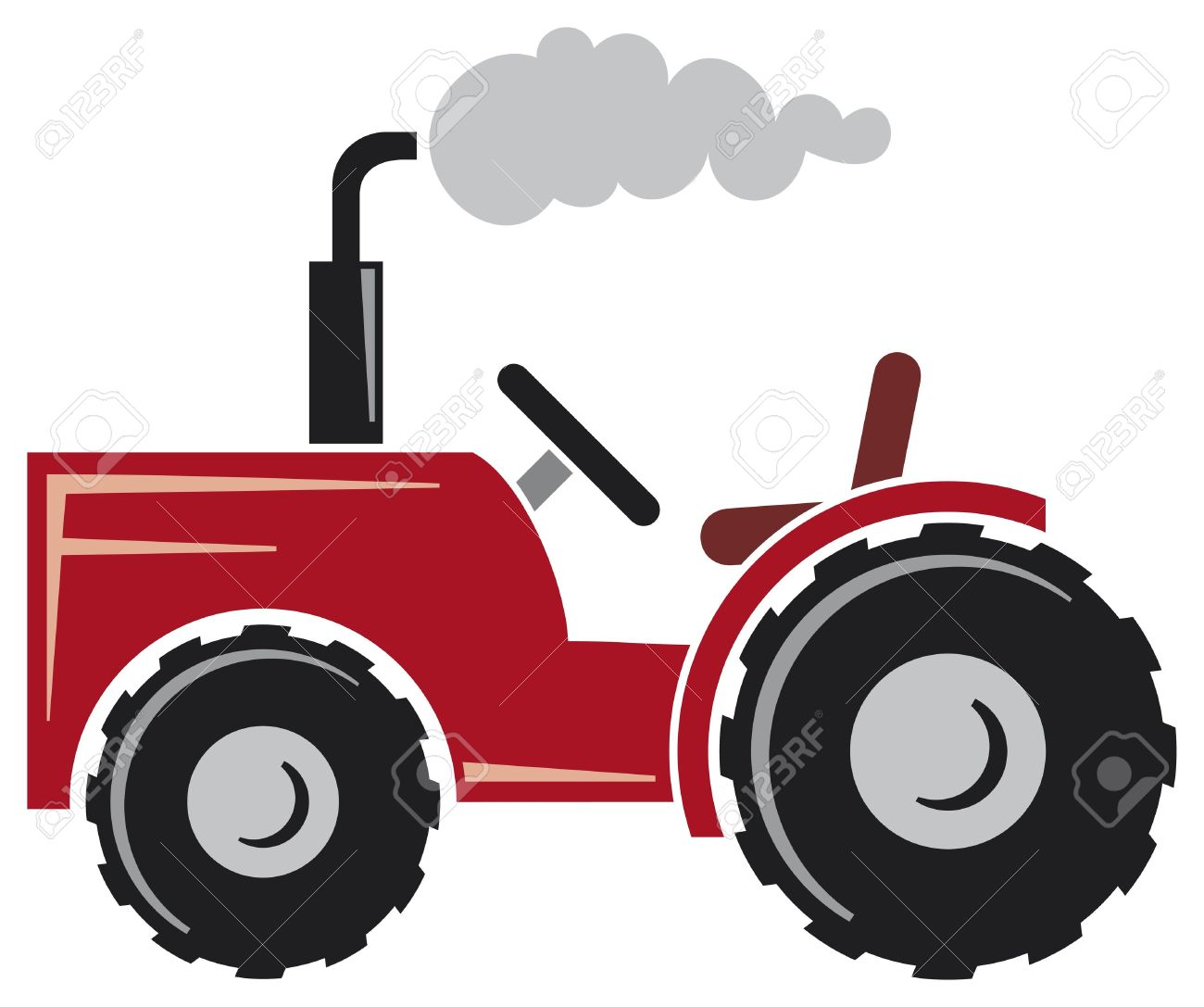 Tractor icon clipart picture freeuse download Tractor Clipart Black And White | Free download best Tractor ... picture freeuse download