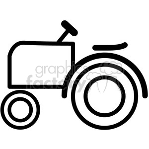 Tractor icon clipart svg free library tractor vector icon . Royalty-free icon # 398541 svg free library