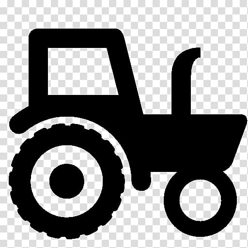 Tractor icon clipart jpg black and white Tractor Computer Icons Agriculture Farm , tractor ... jpg black and white