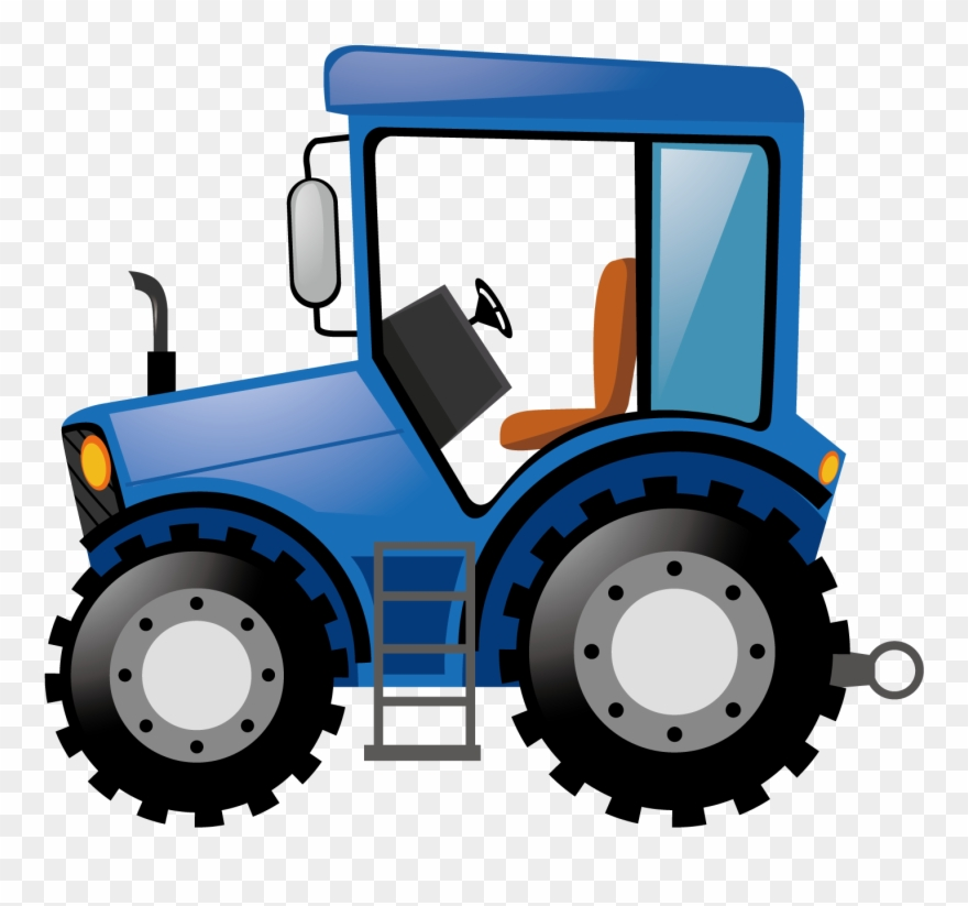 Tractor pulling hay clipart svg black and white download Best 15 Kiss Tractor Stock Photography Clip Art Vector ... svg black and white download