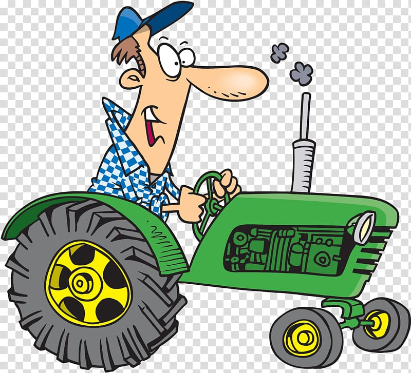 Tractor pulling hay clipart banner download John Deere Tractor Agriculture Farmer, tractor transparent ... banner download