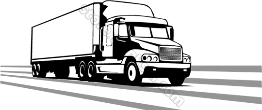 Free Tractor Truck Cliparts, Download Free Clip Art, Free ... jpg black and white stock