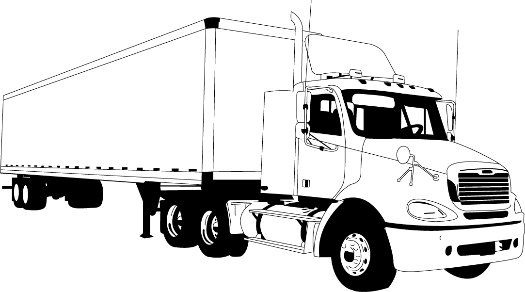 Tractor trailer clipart free clipart Tractor Trailer Clipart Group with 53+ items clipart
