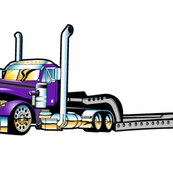 Tractor trailer flatbed clipart graphic transparent library Semi Truck Clipart | Free download best Semi Truck Clipart ... graphic transparent library
