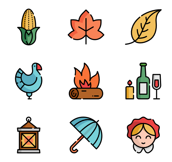 Tradionatial thanksgiving foods clipart jpg black and white Best Thanksgiving icon packs from Flaticon jpg black and white