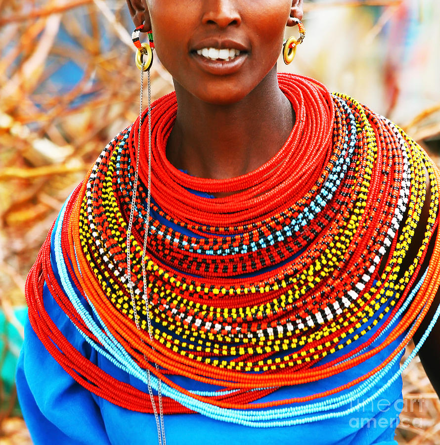 Traditional banner freeuse African Woman With Traditional Accessories Photograph by Anna Om banner freeuse