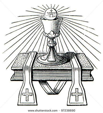 Traditional catholic clip art