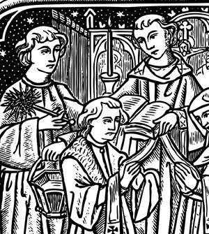 Traditional catholic clip art image black and white library Free Catholic Line Art, Black and White • Installment #18 Marriage ... image black and white library