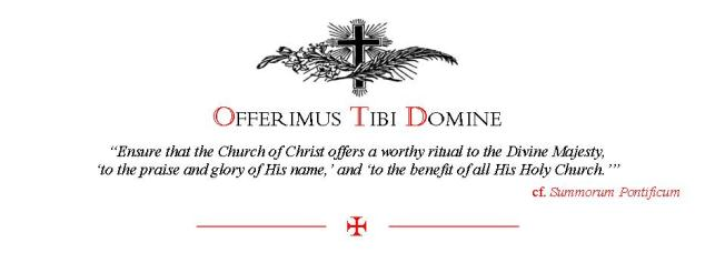 Traditional catholic clip art graphic royalty free download Tibi Domine graphic royalty free download