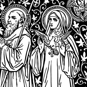 Traditional catholic clip art vector stock Traditional catholic clip art - ClipartFox vector stock