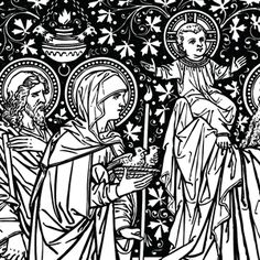 Traditional catholic clip art banner library stock Free Catholic Line Art, Black and White • Installment #18 Marriage ... banner library stock