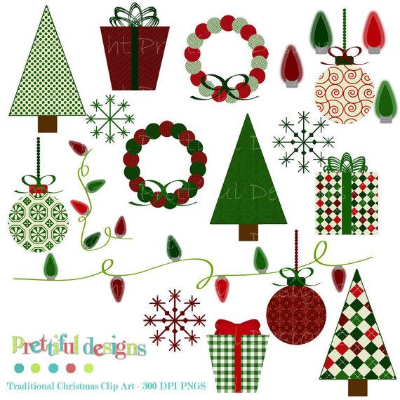Traditional christmas clip art clipart black and white stock Christmas Traditions Clipart (30+) clipart black and white stock