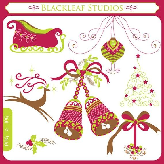 Traditional christmas clip art royalty free 17 Best images about Clipart and Digital Papers on Pinterest ... royalty free