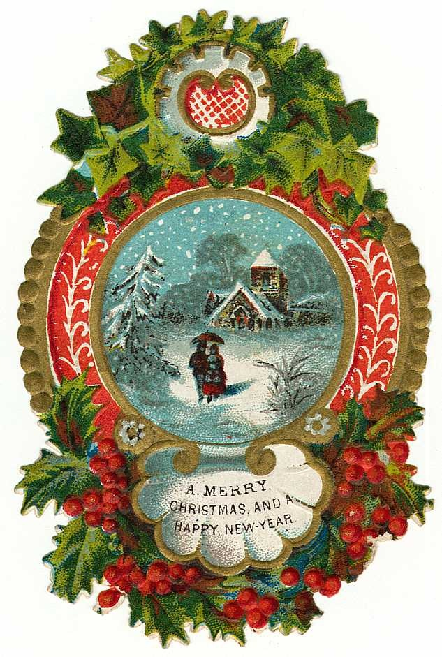 Traditional christmas clipart free image download Free Clip Art from Vintage Holiday Crafts » Blog Archive » Free ... image download