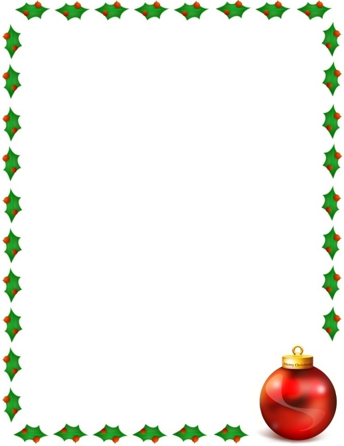 Traditional christmas clipart free jpg library download Letter Borders   Free Download Clip Art   Free Clip Art   on ... jpg library download