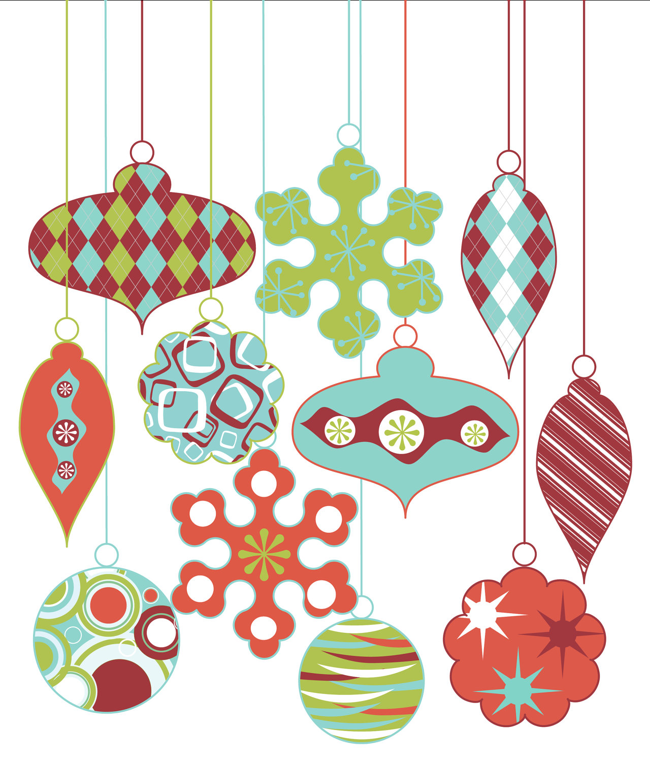 Traditional christmas clipart free banner Free vintage christmas clip art images - ClipartFest banner