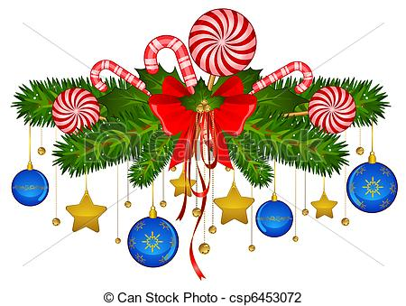 Traditional christmas decoration clipart picture royalty free library Christmas Decoration Clipart & Christmas Decoration Clip Art ... picture royalty free library