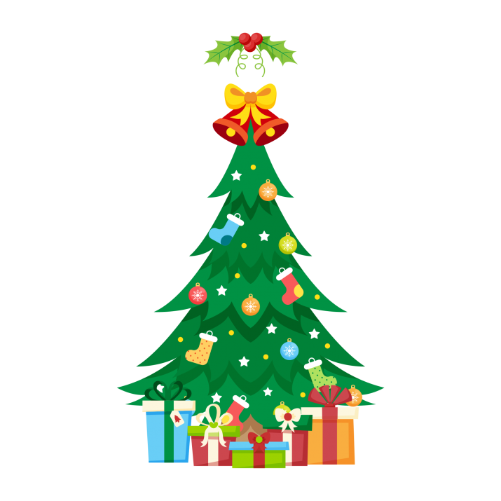 Traditional christmas images clipart banner royalty free Traditional Christmas Tree With Gifts Clipart PNG Image Free ... banner royalty free