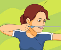Traditional class archer clipart image freeuse library Free Sports - Archery Clipart - Clip Art Pictures - Graphics ... image freeuse library