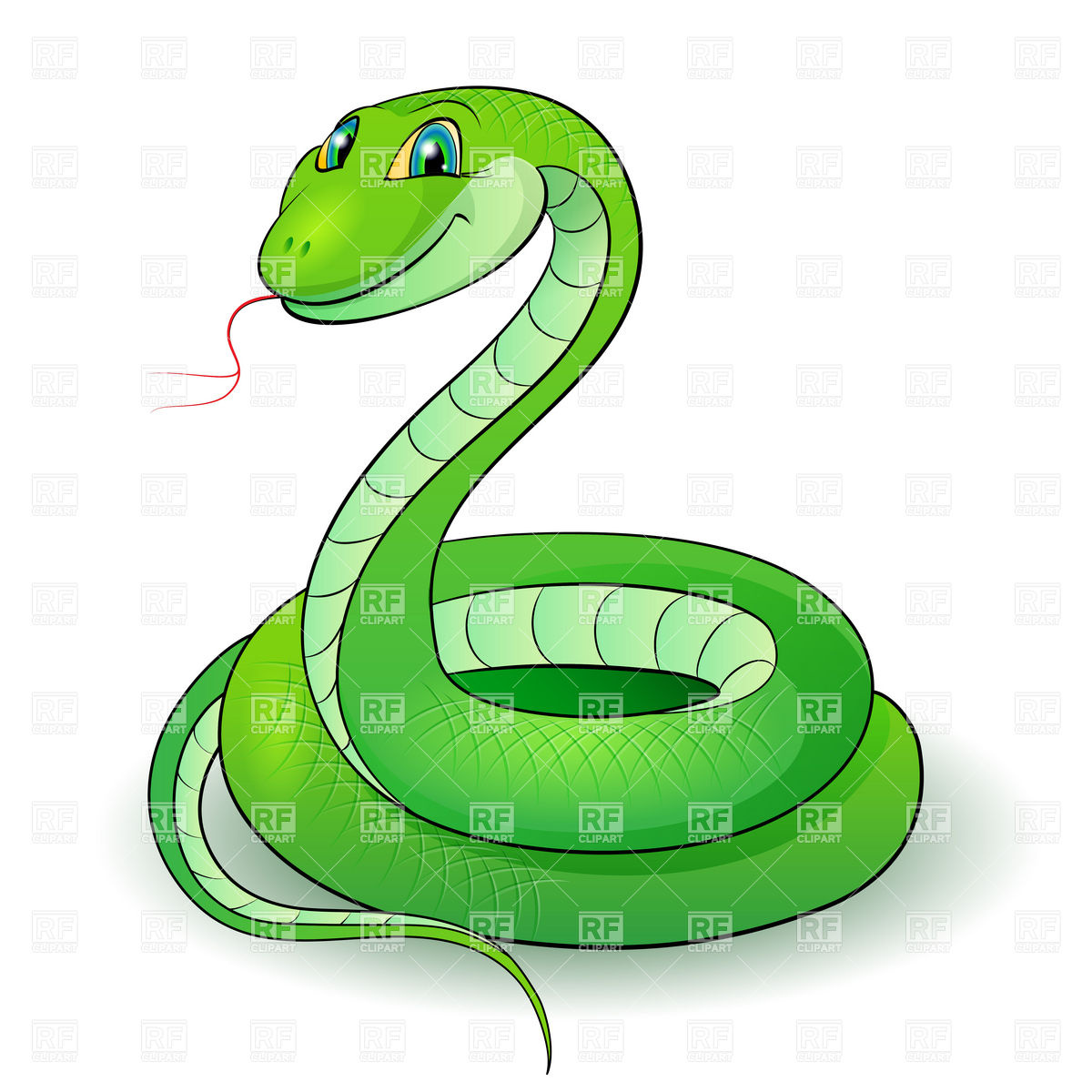 Traditional clipart 3eyed snake image free download Traditional clipart 3eyed snake - ClipartFest image free download