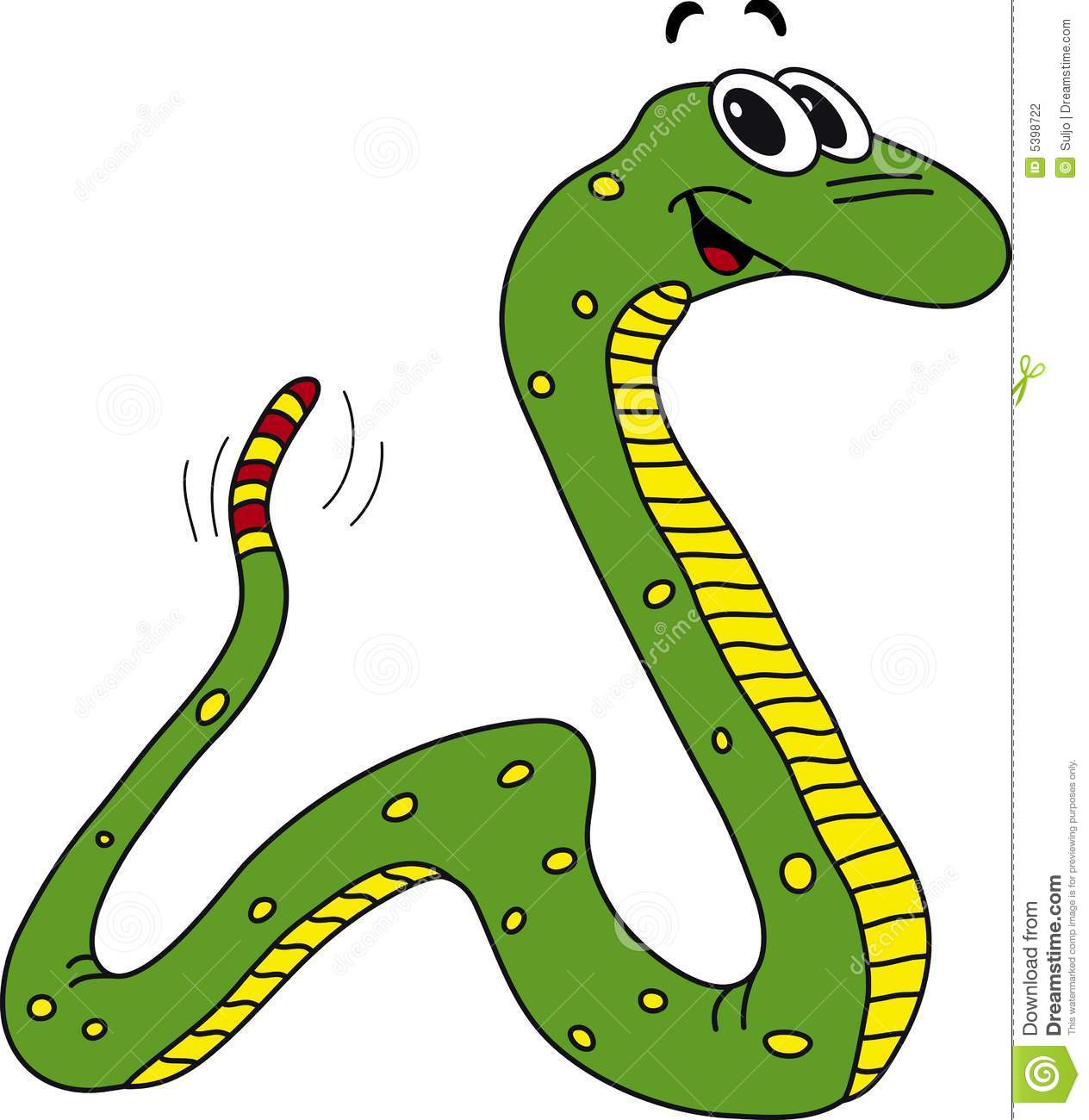 Traditional clipart 3eyed snake royalty free stock Clipart of snake - ClipartFest royalty free stock