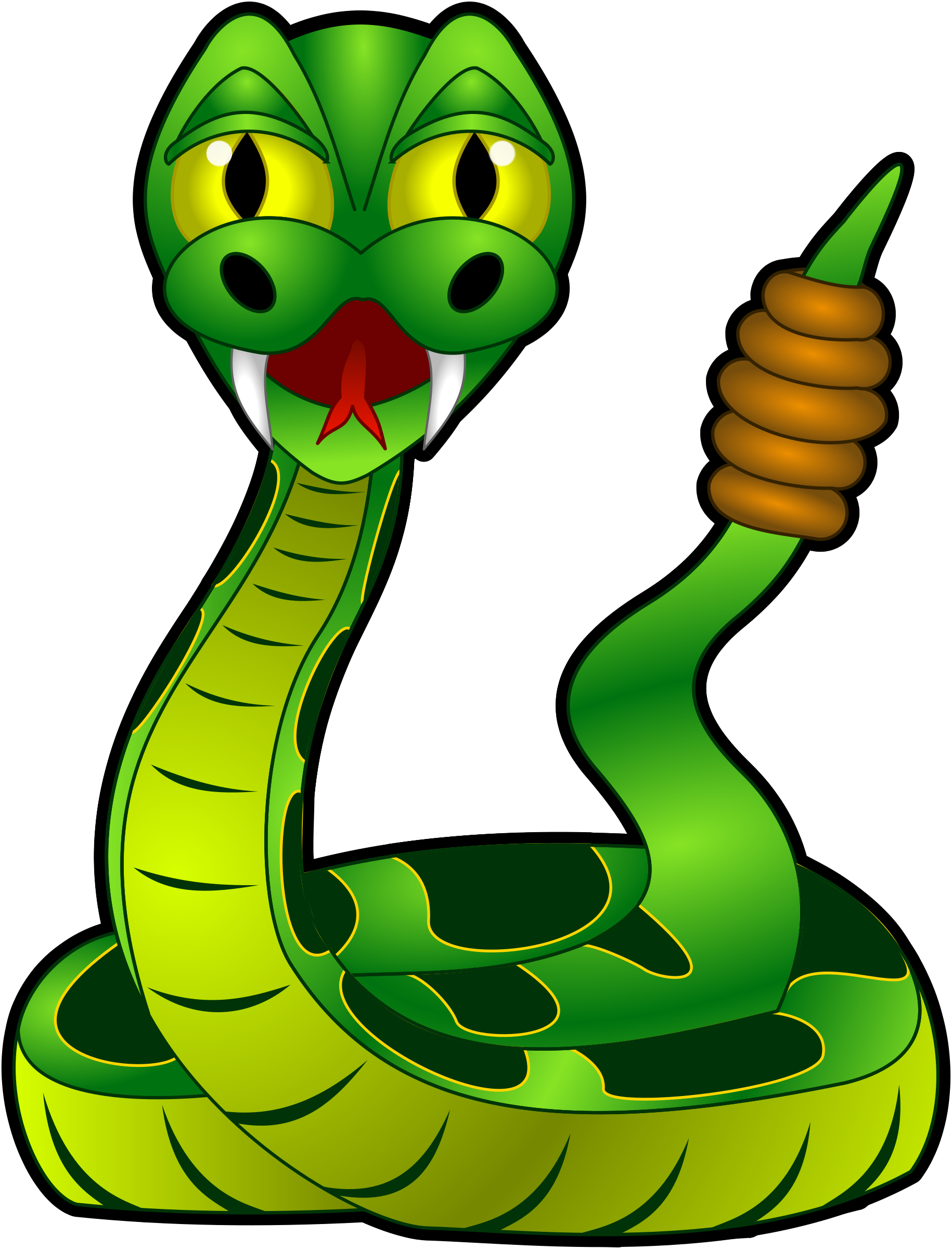 Traditional clipart 3eyed snake banner free Rattle snake clipart - ClipartFest banner free